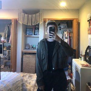 Hardly Worn Nordstrom Dark Green Jacket